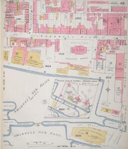 Insurance Plan of London Vol. V: sheet 113