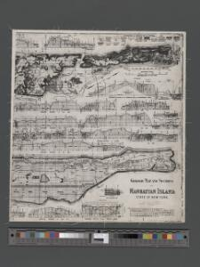 Geologic map and sections of Manhattan Island, State of New York