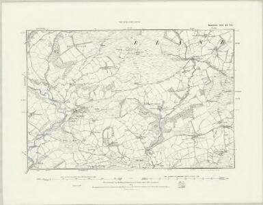 Radnorshire IX.SW - OS Six-Inch Map
