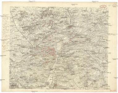 [Mapa okolí pražského]