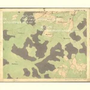 Heuraffel - c6182-1-010 - Kaiserpflichtexemplar der Landkarten des stabilen Katasters