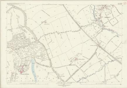 Worcestershire LVIII.1 (includes: Blockley; Chipping Campden) - 25 Inch Map