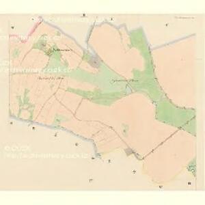 Pradlo - c6067-1-002 - Kaiserpflichtexemplar der Landkarten des stabilen Katasters