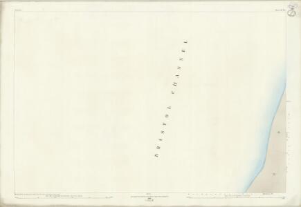 Somerset XVI.13 (includes: Berrow) - 25 Inch Map