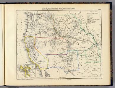 Oregon, Californien, Utah, New Mexico, etc.