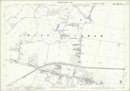 Kent II.15 (includes: Bexley; Borough Of Woolwich) - 25 Inch Map