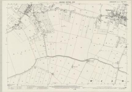 Cambridgeshire XXIX.11 (includes: Haddenham; Wilburton) - 25 Inch Map