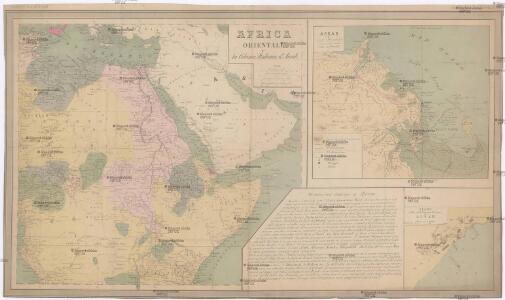 Africa orientale e la colonia italiana d'Assab