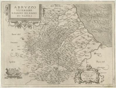Abrvzzo Vlteriore Regione del Regno di Napoli