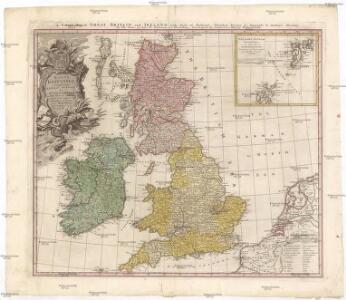 Magna Britannia complectens Angliae, Scotiae et Hiberniae regn. in suas prov. et comitat.