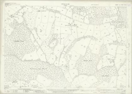 Sussex XLIII.9 (includes: Ashburnham; Brightling; Dallington; Penhurst) - 25 Inch Map