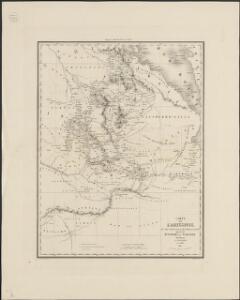 Carte de l'Abyssinie, du pays des Galla, de Choa et d'Ifat