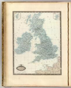 Iles Britanniques, chemins de fer, canaux.