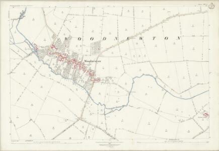Northamptonshire XIII.5 (includes: Apethorpe; Fotheringhay; Woodnewton) - 25 Inch Map