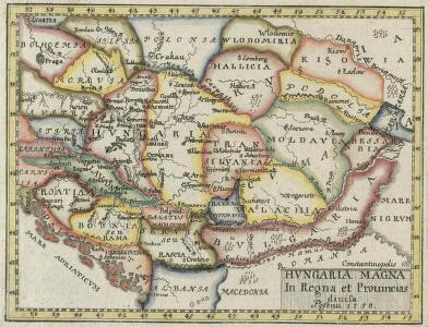 Hvngaria Magna In Regna et Prouincias diuisa
