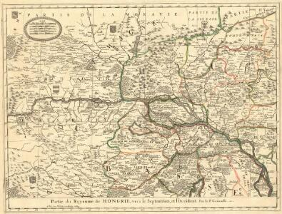 Partie du Royaume de Hongrie, vers le Septentrion, et l'Occident