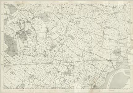 Lancashire CXIV - OS Six-Inch Map