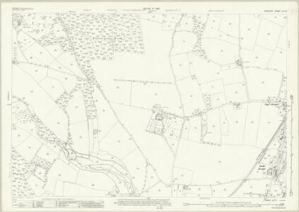 Hampshire and Isle of Wight LIV.15 (includes: Breamore; Fordingbridge; Rockbourne) - 25 Inch Map