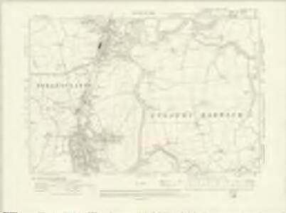 Yorkshire XV.SE - OS Six-Inch Map