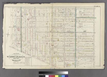 Plate 8: Part of Wards 7, 20, 21& 23. City of Brooklyn.