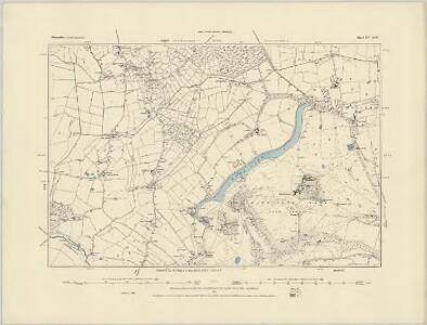 Shropshire XIV.NE - OS Six-Inch Map