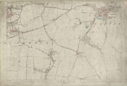 Oxfordshire IX.1 (includes: Sibford Ferris; Sibford Gower; Swalcliffe) - 25 Inch Map