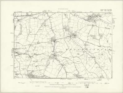 Somerset XCII.SW - OS Six-Inch Map