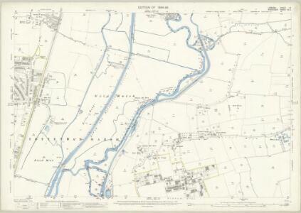 London (Edition of 1894-96) IX (includes: Chingford; Edmonton All Saints; Tottenham; Walthamstow) - 25 Inch Map