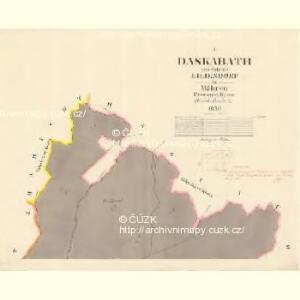 Daskabath - m0420-1-001 - Kaiserpflichtexemplar der Landkarten des stabilen Katasters
