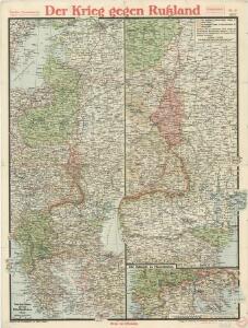 Paasche's Frontenkarte, Nr.14. Der Krieg gegen Russland