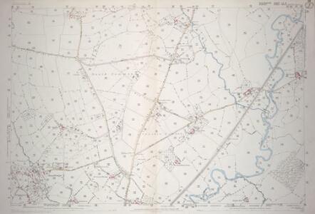 Devon LX.14 (includes: Axminster Hamlets; Chardstock; Hawkchurch; Thorncombe) - 25 Inch Map