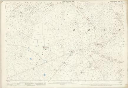 Caernarvonshire XLIV.1 (includes: Aberdaron; Botwnnog; Tudweiliog) - 25 Inch Map