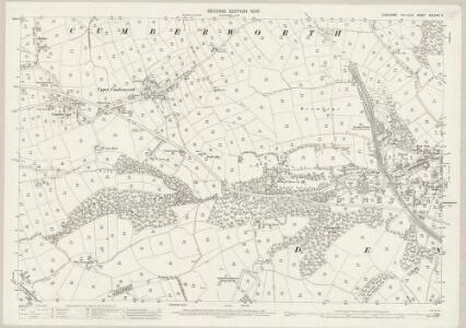 Yorkshire CCLXXIII.2 (includes: Cumberworth; Denby; Kirkburton) - 25 Inch Map