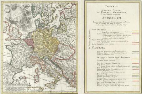 Tab. IV. Imperii Francici vel Romano-German. S. Romani Occid.