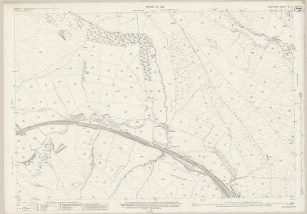 Derbyshire VII.13 (includes: Edale; Hope Woodlands; Hope) - 25 Inch Map