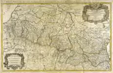 Les monts Pyrenées, ou sont remarqués les passages de France en Espagne