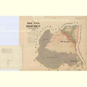 Brünnl - c1169-1-001 - Kaiserpflichtexemplar der Landkarten des stabilen Katasters