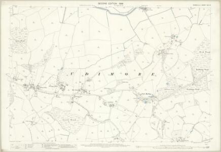Sussex XLV.9 (includes: Peasmarsh; Udimore) - 25 Inch Map
