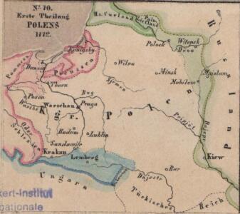 Erste Theilung Polens 1772