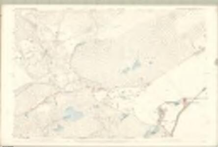 Ross and Cromarty, Ross-shire Sheet LIV.4 - OS 25 Inch map