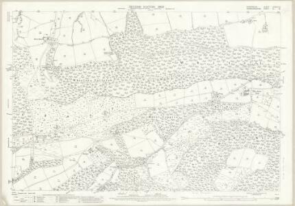 Shropshire LXXVIII.10 (includes: Aston; Bromfield; Burrington; Richards Castle) - 25 Inch Map
