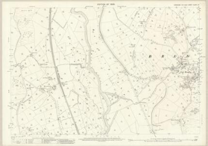 Yorkshire CLXVIII.13 (includes: Bradleys Both; Carleton; Cononley) - 25 Inch Map