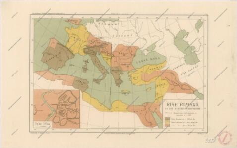Říše římská ve své největší  rozsáhlosti