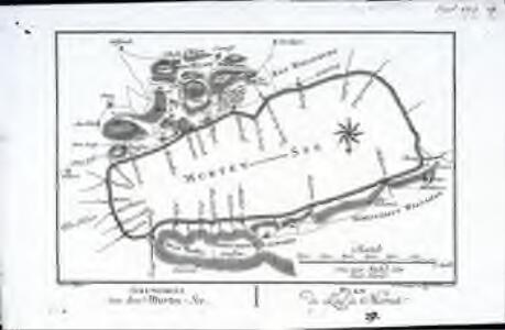 Grundriss, von dem Murten=See