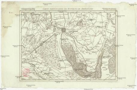 Carte particuliere des environs de Amersfoort