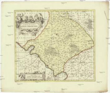 Carte dv pays Vexin francois