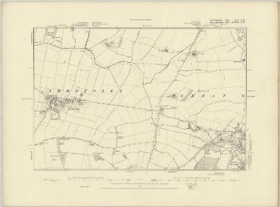Cambridgeshire XLV.SE - OS Six-Inch Map
