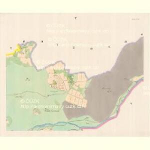 Lomna (Lomno) - m0508-1-005 - Kaiserpflichtexemplar der Landkarten des stabilen Katasters