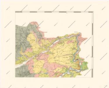 Geologická mapa zastupitelského okresu Plzeňského
