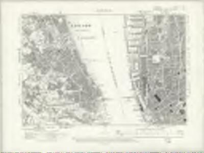 Cheshire VII.SE - OS Six-Inch Map